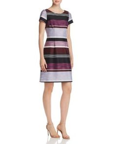 18c9b35553 Adrianna Papell Striped Sheath Dress Women - Bloomingdale's