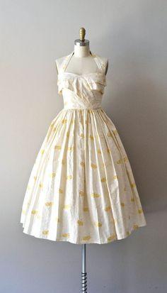 #dress #floral #fashion #1950s #partydress #vintage #frock #retro #sundress #floralprint #petticoat #romantic #feminine by reva