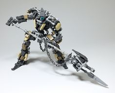 LEGO Robot Mk-8-30 | 相片擁有者 ToyForce 120 Lego Mechs, Lego Bionicle, Awesome Lego, Cool Lego, Lego Bots, Lego Models, Lego Stuff, Lego Brick, How Train Your Dragon