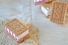 Adorable Tea Biscuit Notebooks from Bijou Books