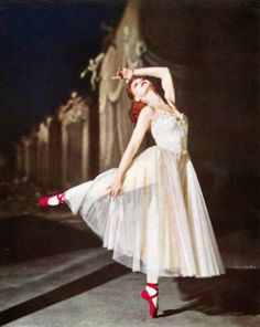 Moira Shearer in The Red Shoes 1948