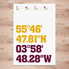 Motherwell Posters Fir Park Stadium Coordinates  by DINKIT on Etsy