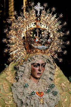 Virgen de la Esperanza Macarena. Sevilla. Spain