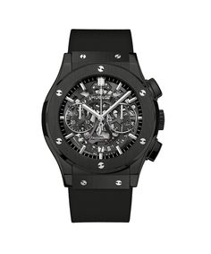 The Classic Fusion Aerofusion Black Magic 45mm watch by Hublot is the perfect Father's Day present!