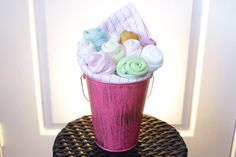 custom made diaper cakes, towel cakes, party favours located in ajax (durham region) Favours, Party Favors, Baby Bouquet, Towel Cakes, Diaper Cakes, Baby Gifts, Diaper Bouquet, Candy Boxes, Gifts For Kids