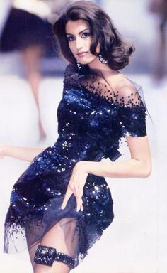 Chanel Haute Couture F/W 1991  Model: Yasmeen Ghuari