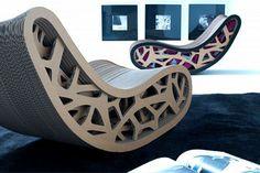 epiu-dacia corrugated cardboard chair