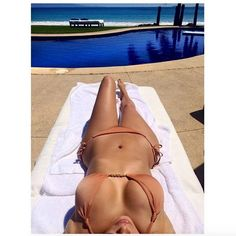 The reality star gave her fans a birds-eye view of her bikini body when she shared this selfie while donning a skimpy two-piece. Description from nydailynews.com. I searched for this on bing.com/images