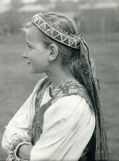 Slovak-folk-costumes: photo by Karol Plicka Bratislava, Girl Photography, Amazing Photography, Portraits, Folk Costume, Costumes, My Heritage, People Of The World, Fashion History