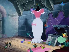 Screencap Gallery for Cinderella Bluray, Disney Classics). In a far away, long ago kingdom, Cinderella is living happily with her mother and father until her mother dies. Cinderella's father remarries a cold, Disney Mouse, Disney Pixar, Walt Disney, Disney Characters, Disney Cats, Disney Princesses, Tarzan, Aladdin, Pocahontas