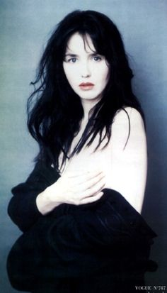 Legendary French actress Isabelle Adjani, photographed by Paolo Roversi for Vogue Paris, June 1994 Isabelle Adjani, Paolo Roversi, Color Photography, Portrait Photography, Fashion Photography, Divas, Jean Paul Goude, David Sims, French Beauty