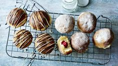Have you mastered the perfect doughnut yet? Here are two flavour variations from the master himself, Paul Hollywood. Equipment and preparation: for this recipe you will need a deep-fat fryer and two small, disposable piping bags.