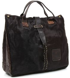 Campomaggi Tote leather 40 cm - C06032VLCV   Designer Brands :: wardow.com