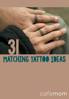 These matching tattoos are strong apart, but better together -- just like you and your favorite person!