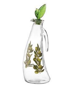 Look what I found on #zulily! Leaf Riva Oil/Vinegar Cruet by Grant Howard, $10 !!  #zulilyfinds