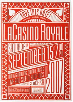 """Sept 15th+Casino = my bday and anything involving the word """"casino"""", is one of my favorite pastimes. Therefore....Great print :)"""