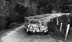 1969 TdC: Francis Serpaggi, Alpine-Renault A110 1600, 8th