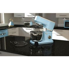 Swan Retro Stand Mixer in Duck Egg Blue with a powerful 1000 W motor, features 8 speed settings. Stand Mixer, Duck Egg Blue, Kitchen Accessories, Swan, Kitchen Appliances, Retro, Inspiration, Diy Kitchen Appliances, Biblical Inspiration