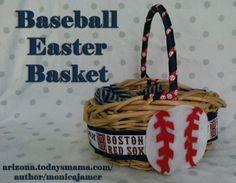 Red Sox Easter Basket- Arizona Mama