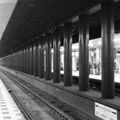 Schiphol treinstation. Foto gemaakt door Marije Dijkstra