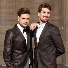 Photo by Sasa Buric/Gloria #2cellos #music #smile #happy #fun