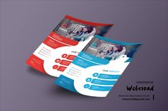 Business Flyer Template AI, EPS, PSD