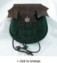 Leather Elven Pouch