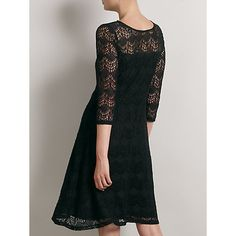 Somerset by Alice Temperley Deco Lace Dress, Black - my new Christmas dress!