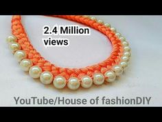 DIY// How to make Silk thread Designer Bangles / Tassel Designer Bangles at Home. Silk Thread Bangles Design, Silk Thread Necklace, Silk Bangles, Diy Jewelry Necklace, Beaded Statement Necklace, Pearl Necklace, Beaded Bracelets, Bead Earrings, Jewlery