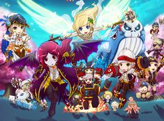 MapleStory starts the Black Friday Week ! Private Server, Character Names, Black Friday, Goodies, Anime, Art, Sweet Like Candy, Art Background, Gummi Candy