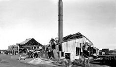 A Timber Mill Destroyed as a result of the Braamfontein Dynamite Explosion | Flickr - Photo Sharing!