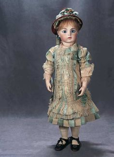 Buy online, view images and see past prices for Stunningly Beautiful French Bisque Bebe by Leon Casimir Bru, The Anne Rice Collection. Invaluable is the world's largest marketplace for art, antiques, and collectibles. Victorian Dolls, Antique Dolls, Vintage Dolls, Porcelain Dolls Value, Fine Porcelain, Painted Porcelain, Porcelain Ceramics, Doll Costume, Costumes