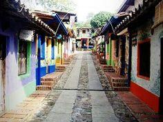 Pueblo Colonial de Peribeca. Táchira, Venezuela