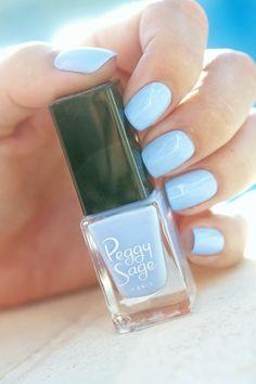 Bubble Sky Peggy Sage, collection Mini Vernis Pop Your Nails
