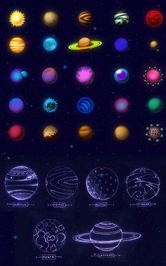 Space Colonizers by Juan Casini, via Behance
