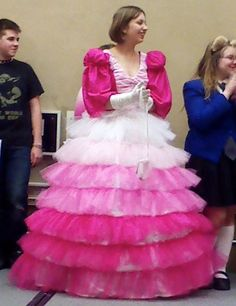 Hot Pink Fluffy Tutu Dress with matching by MTCCollection on Etsy ...