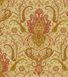 Home Decor Print Fabric-Waverly Byzance Antique