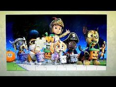 Paw Patrol Halloween Puzzle | Rompecabezas para niños | juego de niños | quebra-cabeça