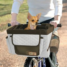 Snoozer Buddy Dog Bike Basket Carrier for Bicycling - Cross Peak Products