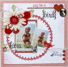 Scrapbook layout made by Websters Pages design team member Gabrielle Pollacco using a variety of WP products (Game On, In Love, Yacht Club, Wonderfall, Royal Christmas and Once Upon a Halloween)