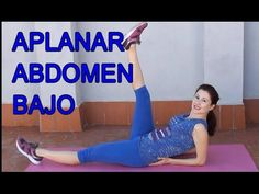 EJERCICIOS PARA APLANAR EL ABDOMEN BAJO-TONIFICAR ABDOMINALES INFERIORES Hiit, Cardio, Best Lower Ab Exercises, Yoga Fitness, Health Fitness, Fat Cutter Drink, Pilates Video, Lower Abs, Weight Control