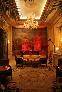 Paris, George V Hotel.