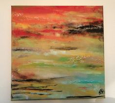 Abstract 2, by Emily Doerr, my painting for sale on Etsy. - EmilysArtandDesign