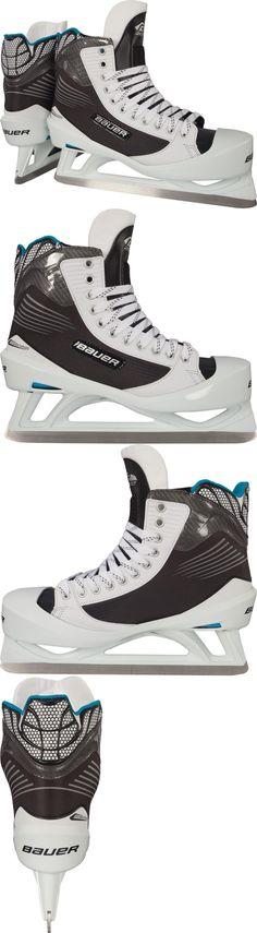 Other Hockey Goalie Equipment 79765: Bauer Reactor 2000 Goalie Hockey Skates Size - Senior -> BUY IT NOW ONLY: $130 on eBay!
