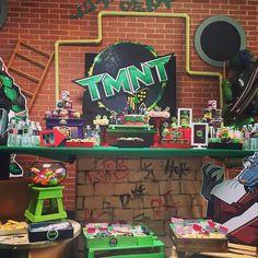 Teenage Mutant Ninja Turtles Birthday Party Ideas | Photo 2 of 8