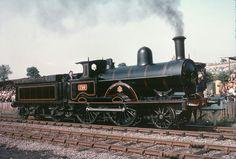 LNWR 'Webb' 2-4-0 No 290 'Hardwicke' Steam Railway, Abandoned Train, British Rail, Old Trains, Great Western, Train Journey, Train Car, Steam Engine, Steam Locomotive