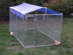 Dog Kennel Roof Cover Ideas