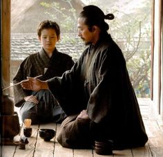 The Japanese tea ceremony. V