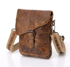 Raiders Rustic Vintage Rugged Liverpool Leather Messenger Bag Cross bo – vicenzoleather