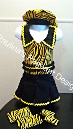 National Pageant Casual Wear Dress.  OOC. Size 4t-6 #Handmade #DressyEverydayHoliday